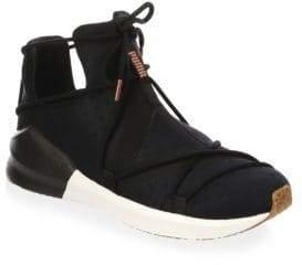 Puma Fierce Rope Suede High-Top Sneakers