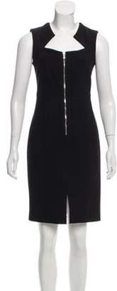 Yigal Azrouel Zip-Accented Mini Dress