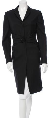 ValentinoValentino Pleated Long Coat
