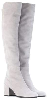 Stuart Weitzman Alljack suede over-the-knee boots