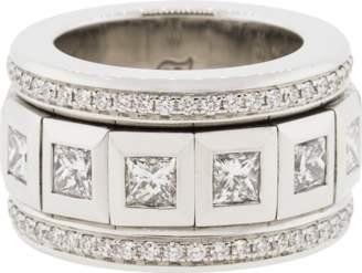 Tamara Comolli Princess Pave Diamonds Ring