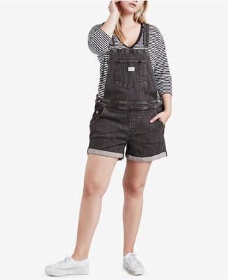 Levi's Plus Size Cotton Denim Overalls