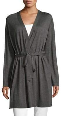Eileen Fisher Simple Self-Tie Cardigan