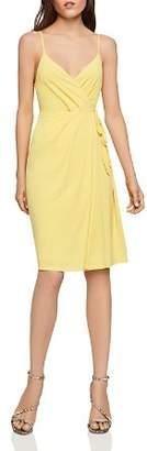BCBGeneration Sleeveless Ruched Crossover Dress