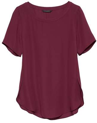 Banana Republic High-Low Hem Top