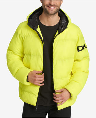 DKNY Men's Hooded Puffer Jacket