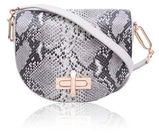 Amanda Wakeley Niven Mineral Leather Crossbody Bag