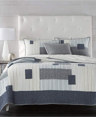 Hotel Collection Closeout! Patchwork Full/Queen Quilt, Created for Macy's Bedding
