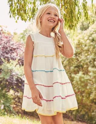 Boden Woven Twirly Dress