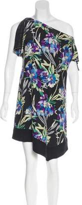 Elizabeth and James Silk Floral Print Dress w/ Tags