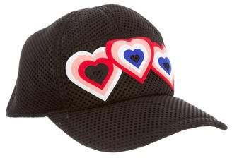 Fendi Mesh Hearts Cap