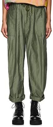 Needles Women's Cotton Canvas Baggy Pants