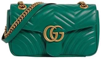 Gucci Small Marmont Matelassé Shoulder Bag