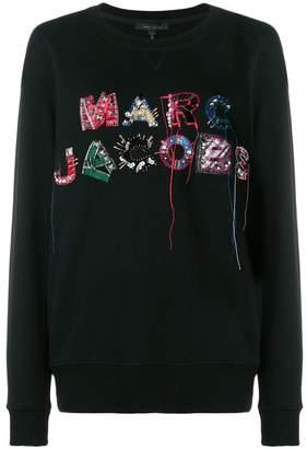 Marc Jacobs (マーク ジェイコブス) - Marc Jacobs logo embroidered sweatshirt