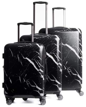 CalPak Astyll 3-Piece Marbled Luggage Set