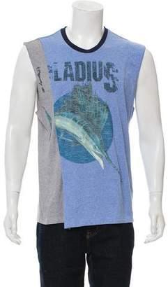 Maison Margiela Swordfish Layered Sleeveless T-Shirt w/ Tags
