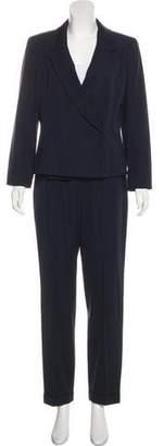 Chanel Wool High-Rise Pantsuit