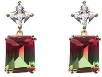 Nina Deco Double Drop Earrings