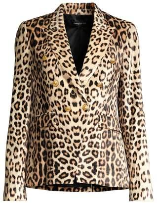 Generation Love Sasha Leopard Print Blazer