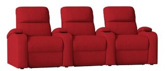 Octane Seating Edge XL800 Genuine Leather Home Theater Row Seating (Row of 3) Octane Seating
