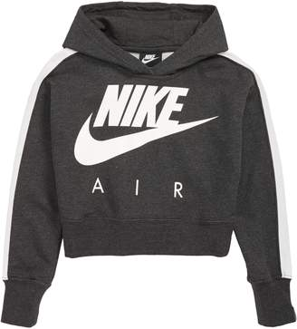 Nike Logo Crop Sweatshirt