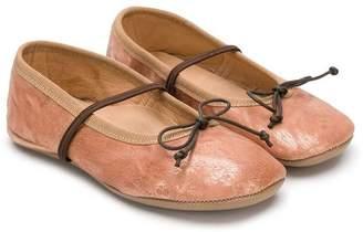 Pépé Kids slip-on ballerina shoes