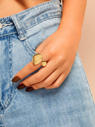 Shein Figure Cuff Ring 1pc