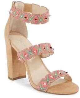 Gigi Studded Suede Sandals