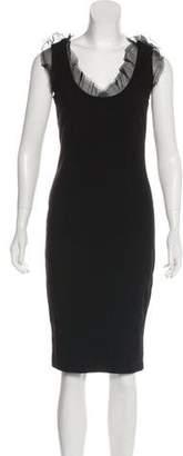 RED Valentino Sleeveless Midi Dress