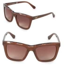 Diane von Furstenberg 56MM Square Sunglasses