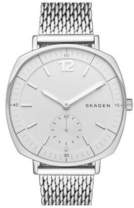 Women's Skagen 'Rungsted' Mesh Strap Watch, 34Mm $185 thestylecure.com