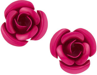 Romeo & Juliet Couture Metal Rose Earrings