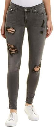 True Religion Volcanic Ash Curvy Skinny Leg