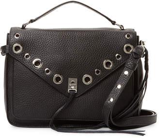 Rebecca Minkoff Darren Grommets Leather Messenger Bag