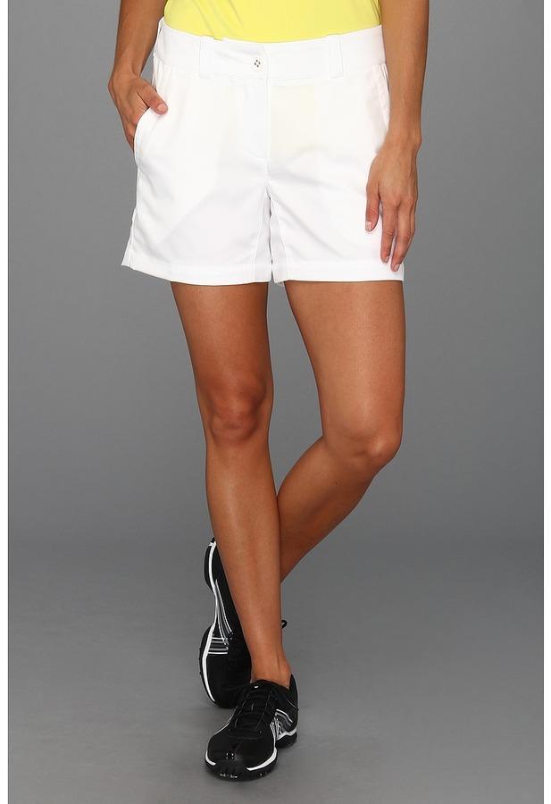 Nike Modern Rise Sporty Short (White/White) - Apparel