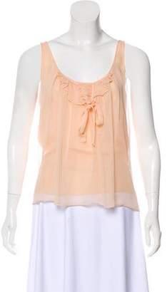 Mayle Silk Sleeveless Top