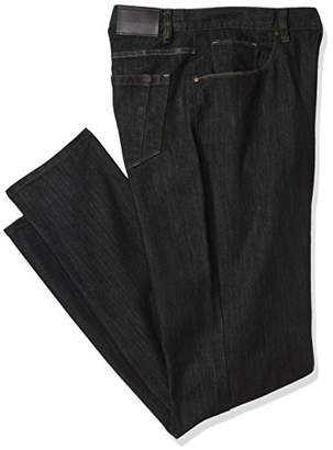 1055602af8 at Amazon.com · Perry Ellis Big and Tall Rinse with Black Tint Five Pocket  Denim-Men s