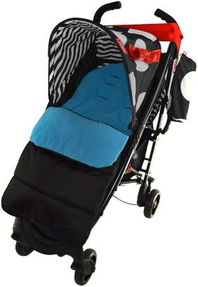 Koochi For Your Little One Footmuff/Cosy Toes Compatible with Pushmatic Pushchair Ocean Blue