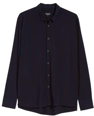 Zanerobe Striped Long Sleeve Shirt