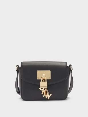 DKNY Elissa Pebbled Leather Small Crossbody