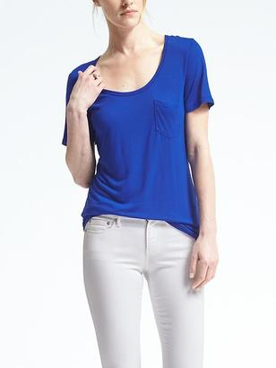 Signature Modal Scoop-Neck Tee $34.50 thestylecure.com
