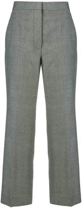 Stella McCartney high waisted cropped trousers
