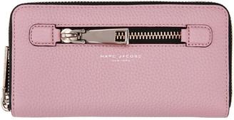 Marc Jacobs Pink Gotham City Standard Wallet $210 thestylecure.com