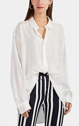 Katharine Hamnett Women's Nicola Washed Silk Blouse - White