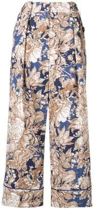 Max Mara Axe floral print trousers