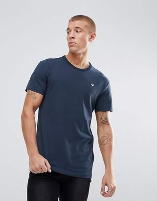 G Star G-Star Bonded Logo T-Shirt Navy
