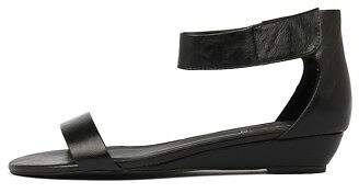 I Love Billy New Marlena Black Womens Shoes Casual Sandals Sandals Flat