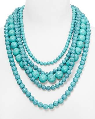 "BAUBLEBAR Globe Strands Layered Necklace, 18"" $38 thestylecure.com"
