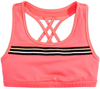 Macy's Ideology Big Girls Plus Cross-Back Sports Bra, Created for