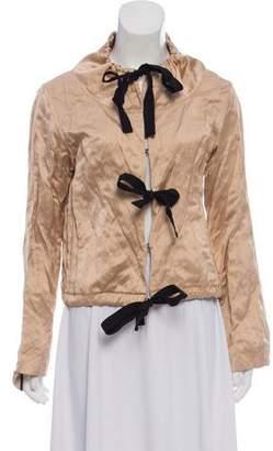 Prada Satin Evening Jacket